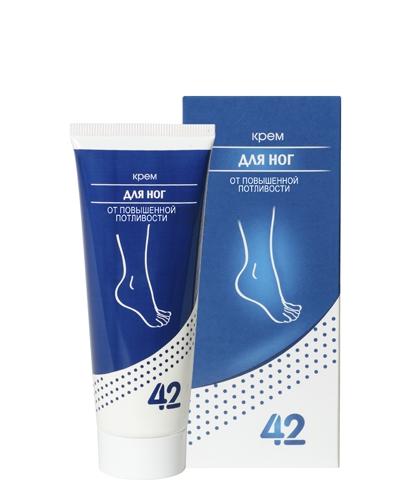 Крем для ног от повышенной потливости «42»